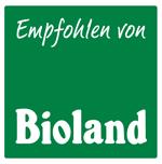 Empfohlen von Bioland Logo